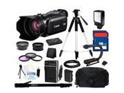 Canon XA10 Professional Camcorder with 64GB Internal Flash Memory and Full Manual Control, Everything You Need Kit, 4922B002