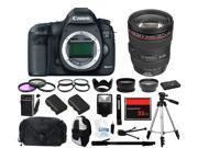 Canon EOS 5D Mark III DSLR w/ 24-105mm Lens (Everything You Need Kit)