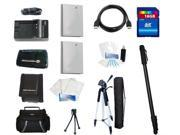 Essential Accessories Kit For Canon PowerShot SD940 IS, SD960 IS, SD970 IS, TX1