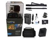 GoPro Hero 3+ Black Edition + Basic Starter Accessory Kit Outdoors Kit