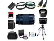 Advanced Shooters Kit for the Canon 5d MarkIII includes: EF75-300mm f/4-5.6 III