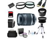 Advanced Shooters Kit for the Canon 60D includes: EF-S 18-200mm IS + MORE ...
