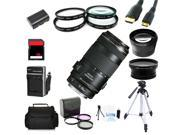 Advanced Shooters Kit for the Canon 60D includes: EF 70-300mm IS USM  + MORE ...