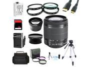 Advanced Shooters Kit for the Canon T4i includes: EF-S 18-55mm STM + MORE...
