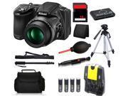 Nikon COOLPIX L830 16 MP Camera + 16 GB All You Need Accessory Bundle Kit