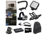 GoPro Hero 4 Black Edition Camcorder + All You Need GoPro Accessory Package