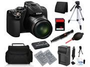 Nikon COOLPIX P530 16.1 MP Digital Camera with 16GB Dual Battery Holiday Bundle