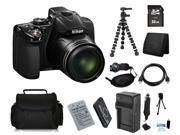 Nikon COOLPIX P530 16.1 MP Digital Camera with 32GB Bendable Tripod Holiday Kit