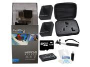 GoPro Hero 4 Silver Edition Camcorder + Dual Battery Special Holiday Bundle Kit