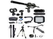 Professional Filmmaker's Kit for Canon Vixia R52 R50 R500 R42 R40 R400
