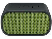 Logi Mini Boombox-yellw-grn/blk Blutooth Wireless Spkr & Spkrphone