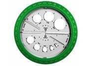 Helix Angle and Circle Protractor - Plastic - Assorted