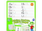 The Board Dudes LeapFrog SmartDudes LeapFrog Activity Book, Printing/Numbers/Math/Shapes, Dry Erase