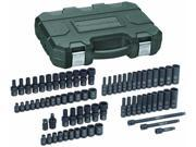 71 Pc. 1/4 Drive Impact Socket Set SAE/Metric