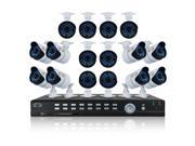 Night Owl 32-Channel 960H Digital Video Recorder with 2TB HDD, White/Black
