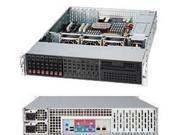 SUPERMICRO CSE-213LTQ-R720LPB Black 2U Rackmount Server Case