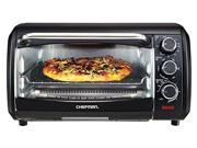 Chefman RJ25-6-BLACK Black X-Large Countertop Convection Oven
