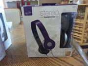 ILIVE IAH54PR Over-the-Ear Headphones, Purple