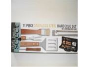 Chefs Basics HW4060 11-Piece Barbecue Set with Zippered Carrying Pouch