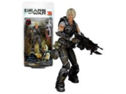 "NECA Year 2011 Video Game Series ""Gears of War 3"" 6-1/2 Inch Tall Action Figure - ANYA STROUD with 30+ Points of Articulation Plus ""Lancer"" Assault Rifle"