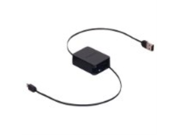 Black 3ft Retractable Sync and Charge Cable for Kindle