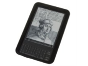 CE Compass New Black Silicone Skin Case Gel Cover For Amazon Kindle 3
