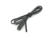 VideoSecu 36 Inch 10 Pcs Female DC Power Plug Pigtail Cables Cords Wires for CCTV Security Camera Power Supply Box 1VF