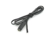 VideoSecu 10 Pieces 36 Inch 3ft Feet Female 2.1 x 5.5mm Power Pigtail Plug Cord Wire for Security Camera Installation 1VF