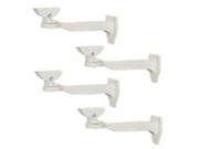 VideoSecu 4 x Outdoor Swivel Wall Ceiling Mounts CCTV Security Camera Universal Mounting Brackets for Home Surveillance Camera WJ7