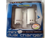 KMD Wii Komodo Mini Dual Charger Wii Motion Plus Compatible