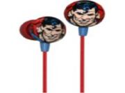 iHip Classic Superman Logo Hi-Fi Noise Reducing Ear Buds (Earphones)