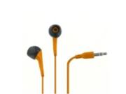 EMPIRE 3.5mm Orange Stereo Earbud Headphones for HTC Windows Phone 8S