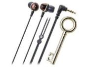 Audio Technica ATHCKF500BW In-Ear Headphones, Brown