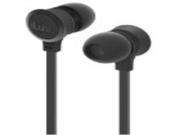 iLuv IEP335BLK Neon Sound High-Performance Earphone with SpeakEZ Remote for iPod/iPhone/iPad, Black