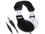 iHip Extra Bass Stereo Headphones (Black/White)