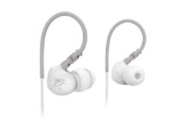 MEElectronics M6-WT-MEE Sport Noise-Isolating In-Ear Headphones with Memory Wire (White)