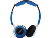 Sentry Head Art DJ Style Over The Head Headphones Blue - Sentry HO402