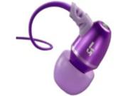 JBuds J5 Earbuds-Style Headphones (Plum Purple)