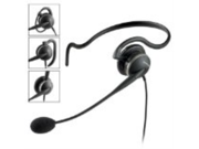GN2124 Mono Noise Cancelling Cord Headset Professional Series with 4 in 1 Wearing Styles