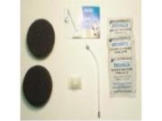 Plantronics Value Pack for Supra Headsets 2ear Cush 1 V-tube Bk Sup Crd Cp