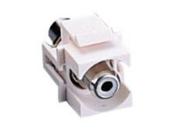 C2G - 03822 - Snap-In White RCA Keystone Module White