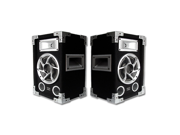 "Acoustic Audio GX400 1200W Pair of 6.5"" Pro Audio PA/DJ Studio Monitor Speakers"