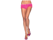 Neon Pink Ruffled Panties