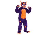Plus Size Morris the Monster Costume
