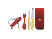 Victorinox Swiss Army Camping Set with Waiter Swiss Army Multitool 5 Piece 57609