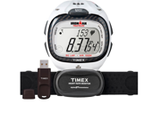 Timex Ironman Race Trainer Pro Kit Digital Heart Rate Monitor White 5K490 T5K490