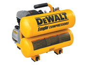 Refurbished: Dewalt D55153R 1.1 HP 4 Gallon Oil-Lube Hand Carry Air Compressor