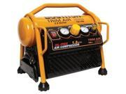 Factory-Reconditioned CAP1512-OF-R Trim Air 1.5 HP (Running) 1.2 Gallon Oil-Free Hand Carry High-Output Compressor