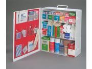 3-Shelf 25 Person Durable Metal Industrial First Aid Cabinet - 180