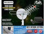 WA-893TG Rotating Outdoor Antenna - Low Noise Microwave Amplifier